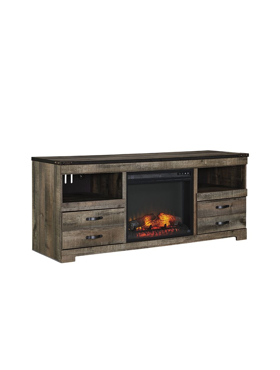 Picture of Tv stand with fireplace