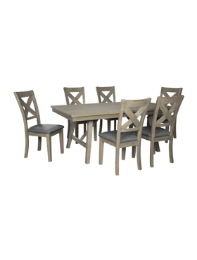 Picture of 7 pieces dining set