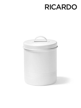 Picture of 1.6 L White Metal Food Container