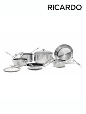 Picture of 10 Pieces 3-Ply  Cookware Set