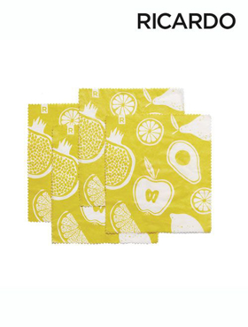 Picture of Set of Small Reusable Food Wraps