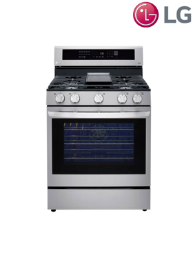 Picture of 5.8 cu. ft. Gas Range with True Convection