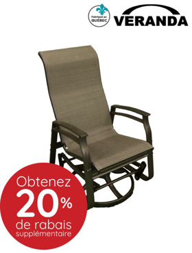 Picture of Swivel oscillatory chair
