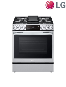 Picture of 6.3 cu. ft. Gas Range with True Convection