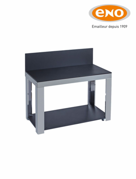Picture of Chariot Felix table inox