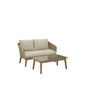 Picture of Loveseat & table