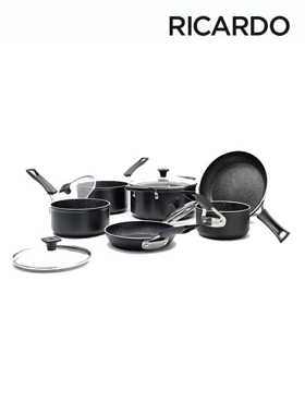 """Picture of """"The Rock"""" 10 Piece Cookware Set"""